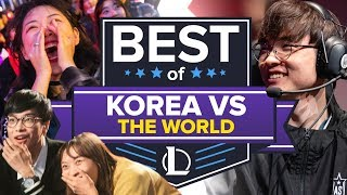 Download The Best of Korean League of Legends Teams Dumpstering the Rest of the World Video