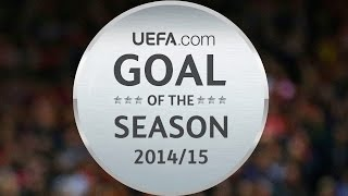 Download Messi, Ramsey, De Bruyne? 2014/15 Goal of the Season nominees Video
