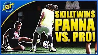Download SkillTwins CRAZY Nutmeg/Panna Skill vs. Football Professional Player! ★ Video