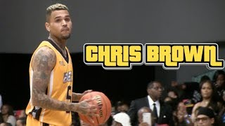 Download Chris Brown & GAME Co-MVPs of BET Celebrity Basketball Game + Dunk Contest Video