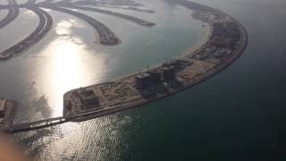 Download Dubai golf club helicopter view Video