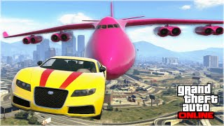 Download AWESOME GTA 5 STUNTS & FAILS (Funny Moments Compilation) Video