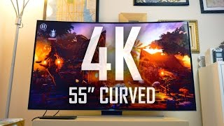 Download My first 4K Curved Smart TV | Is the Curve worth it? Video