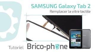 Download Tuto : Changer vitre tactile Galaxy Tab 2 - 3 P5100 P5110 P5200 P5210 Video
