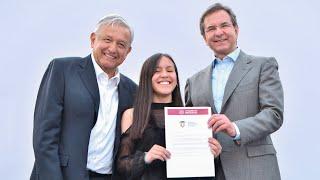 Download En Plaza de las Tres Culturas presidente AMLO garantiza con becas acceso a la educación Video