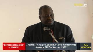 Download DEVOIR DE MEMOIRE 2016. ″Incertitudes du contexte politique congolais et mort de Marien ″ Video