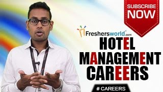 Download CAREERS IN HOTEL MANAGEMENT – BHM,BBA,MBA,Diploma,Job Openings,Salary Package Video