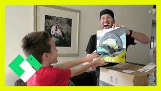 Download SURPRISE UNBOXING FOR BRYCE (Day 1461) | Clintus.tv Video