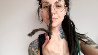Download What's inside? Cutting off my 2.5 year old dreadlocks Video