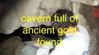 Download Cavern of ancient gold bars found, but then we got caught Video