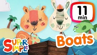 Download The Super Simple Show - Boats | Cartoons For Kids Video