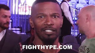 Download ″TRIPLE G WAS GETTING IN THAT ASS″ - JAMIE FOXX REACTS TO DRAW IN CANELO VS. GOLOVKIN Video