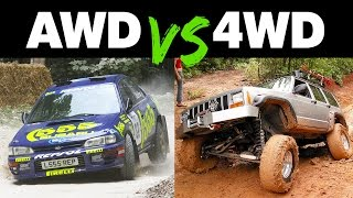 Download The Differences Between AWD and 4WD Video