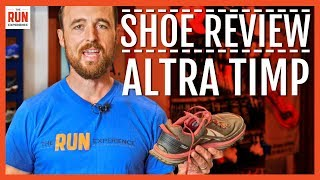 Download Shoe Review | Altra Timp Video