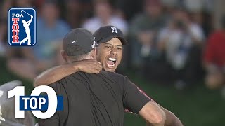 Download Tiger Woods' top 10 shots at Bay Hill Video