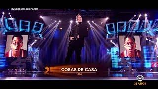 Download Carlos Latre repasa las grandes voces de los 25 años de Antena 3 | Gala 25 años de Antena 3 Video