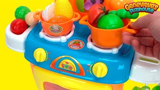 Download Best Toy Kitchen Food Name Videos for Kids Preschool Educational Toy Stove Minnie Mouse Toy Cooking! Video