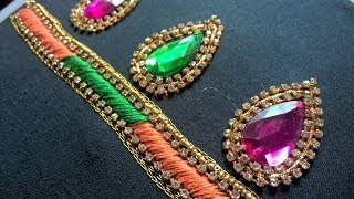Download Hand embroidery . Hand embroidery for dresses, kurtis and blouses. Video