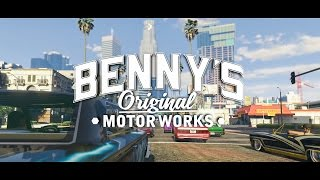Download GTA Online: Lowriders - Benny's Original Motor Works Video