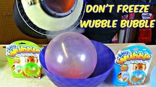 Download Don't Freeze Wubble Bubble with Liquid Nitrogen Video