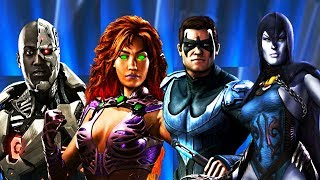 Download Injustice 2 - All Teen Titans Dialogue/References Video