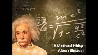 Download 10 Motivasi Hidup Albert Einstein Video
