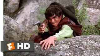 Download Guns of the Magnificent Seven (1969) - Stick 'Em Up! Scene (7/9) | Movieclips Video