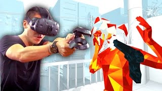 Download VR SUPERHOT on HTC Vive Video