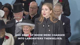 Download Latin Orator Jessica Rachael Glueck | Harvard Commencement 2017 Video