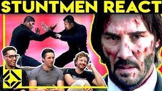 Download Stuntmen React To Bad & Great Hollywood Stunts 3 Video