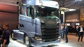 Download Scania S 730 A4x2NB 2017 In detail review walkaround Interior Exterior Video