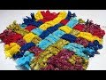 Download इस कमाल के पायदान को आप बड़े आसान तरीके से बनाएं Paydan banana | door mat | Floor mat Video