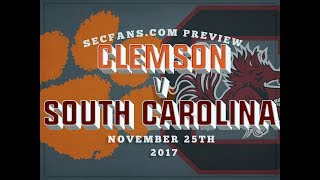 Download Clemson vs South Carolina - Preview & Predictions 2017 - College Football Video