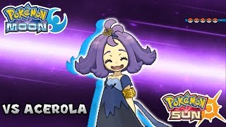 Download Pokemon Sun & Moon - Battle! Elite Four Acerola (HQ) Video