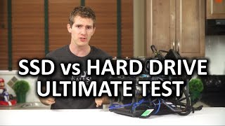 Download SSD vs Hard Drive Torture Test Video