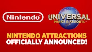 Download NEW Entire Nintendo World Officially Announced for Universal Parks! Video
