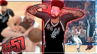 Download NEAR HALF COURT BUZZER BEATER!! Brother vs Brother Gets Physical! NBA 2k18 MyCAREER Ep. 57 Video
