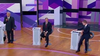 Download Mexico holds presidential debate addressing issues of border security and trade Video