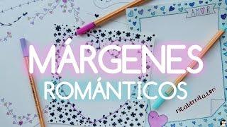 Download MÁRGENES para PORTADAS de cuaderno y BORDES para CARTAS de amor (Dibujos de San Valentín) Video