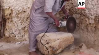 Download Inside the Egyptian eco resort made of salt rock Video