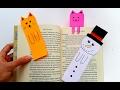 Download DIY Basit Kitap Ayracı Yapımı-Kedi ve Kardan Adam kitap Ayracı Nasıl Yapılır Video
