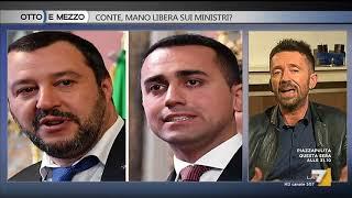Download Otto e mezzo - Conte, mano libera sui ministri? (Puntata 24/05/2018) Video