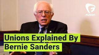 Download Bernie Sanders Explains Unions to Young People Video