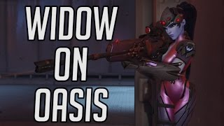 Download Widowmaker on New Map Oasis Highlights - Overwatch Video