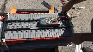 Download Change Bad Cell On Toyota Prius 2006 HV Battery hybrid Video