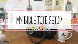 Download My Essentials: What's in My Bible Tote (Bible Study, Journal and Planner Supplies) Video