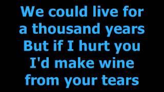 Download INXS Never Tear Us Apart Lyrics Video