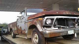 Download 1978 Ford F100 First Start in 15 Years Video