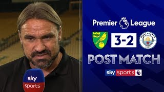 Download ″It's a great day for us, the club and supporters! | Daniel Farke Post Match | Norwich 2-3 Man City Video