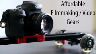 Download Affordable Filmmaking / Camera Gears Video